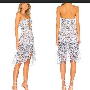 Revolve Majorelle dress